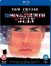 BORN ON THE 4TH OF JULY - BLU-RAY - REGION B UK