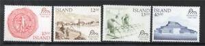ICELAND MNH 1986 SG683-686 BICENTENARY OF REYKJAVIK