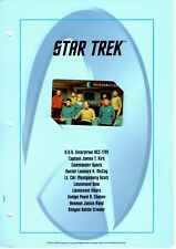 The Official Star Trek Mercurycard Collection - Complete - Phone cards