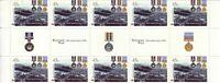 Australia Post Decimal Sheet - 2000 - Korean War 50th Anniv - Gutter Sheet - MNH