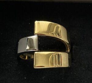 Bicolor Ring Calvin Klein Gr 56