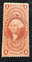 us stamps scott R72 Unused OG MNH Centered Superb