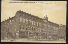 Postcard McCONNELSVILLE Ohio/OH  Stanberry Business Storefront Building 1907