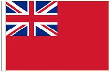 Red Ensign Merchant Navy Sleeved Courtesy Flag ideal for Boats 45cm x 30cm