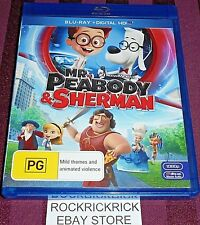 MR PEABODY & SHERMAN BLU-RAY