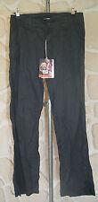 pantalon noir/gris foncé taille 38 sur étiquette mais 42cm marque LOAP