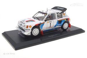Peugeot 205 T16 Rallye Monte Carlo 1986 Salonen/Harjanne Norev 1:18 184863