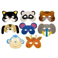 12pcs Eva Foam Animal Masks For All Occasions Kids Birthday Party Filler Set