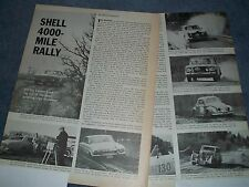 1963 Shell 4000-Mile Rally Vintage Highlights Article