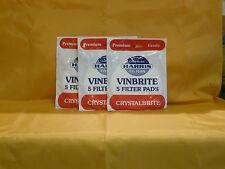 VInbrite Filter Pads (5's)  x 3 pkts