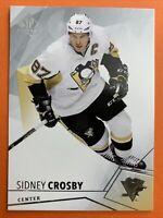 2015-16 Upper Deck SP Authentic #87 Sidney Crosby Pittsburgh Penguins