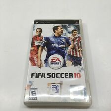 FIFA Soccer 10 Playstation Portable PSP Game Complete in Box CIB