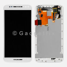 US White LCD Screen Touch Screen + Frame For Motorola Moto X Pure Edition XT1575