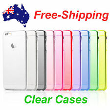 Ultra Slim Thin Cover Soft Gel clear Case for Apple iPhone 6 6s 7 Plus 5s 4
