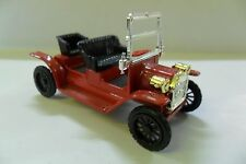 OLD CARS 1:43 AUTO DIE CAST FORD ROASTER 1907 ROSSO RED USATO SECOND HAND