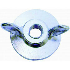"""RPC R2181 Air Cleaner Wing Nut - 1/4""""-20 Thread - Steel with Flange"""