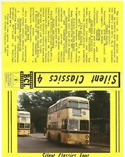 More details for bcl videos, silent classics 4, vhs tape, bus and trolleybuses from 1950's & 60's