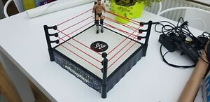 Wwe Wrestling Figure Elimination Chamber Ring With Figure