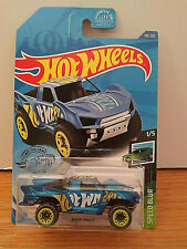 2020 Hot Wheels #110 Blue Baja Truck Speed Blur - NMC Free Shipping