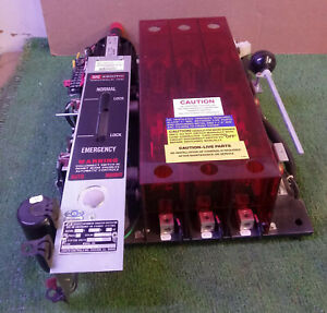 1 USED ZENITH ZTSH15EX-5 150 AMP AUTOMATIC TRANSFER SWITCH ***MAKE OFFER***