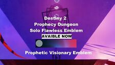 Prophecy Dungeon Solo Flawless Within 24hr(PC/PS4/Xbox/cross save)100%GUARANTEED