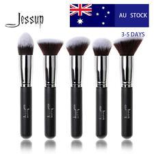 AU Jessup Professional Kabuki Face Cosmetic Brush Set Tapered Angled Face Powder
