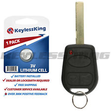 Replacement Remote Keyless Entry Key Fob for 2002-2006 Land Rover Range Rover