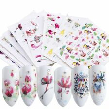 15X Nails Sticker Flamingo Owl Flower Animal Designs Water Manicure Nail Decal