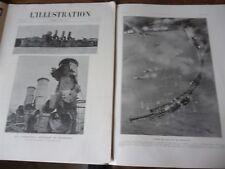 ILLUSTRATION 1918 3922 REIMS ZEEBRUGGE FLANDRE PARIS MONTDIDIER PLESSIS DE ROYE