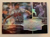 GREG MADDUX 1998 SPx Spectrum Holo SP Parallel #/1750 Atlanta Braves Cubs