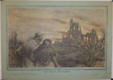 """Photogravure """" guerre de 1914"""", A. Faivre, novembre 1918"""