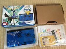Nintendo 3DS LL XL Pokemon X Pack Limited Xerneas Yveltal Blue Console Japan F/S