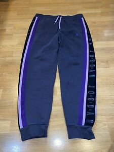 Air Jordan Large purple mens joggers