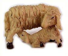 Animaux Moutons troupeau de moutons brebis avec agneau pour figurines 11-13 CM
