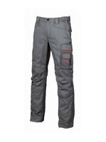 Pantalone Smile U-Power multitasche lavoro grigio tg. 44 meccaino idraulico