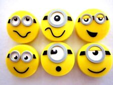 6 Minion Tennis Vibration Shock Absorber Dampeners Stuart Kevin Despicable Me