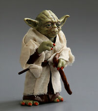 Star Wars Toys Yoda Jedi Knight Master Attack Statue Cane Action Figure Loose