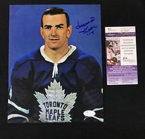 Dave Keon Signed Toronto Maple Leafs 8x10 Photo JSA Authenticated S17237