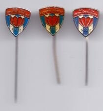 3 PINS  pin badge anstecknadel FC PRISTINA - PRISHTINA KOSOVA Kosovo Yugoslavia