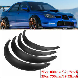 """2*3.1""""/80cm & 3.5""""/90cm Wheel Arches Fender Flares Wide Kit For Subaru Forester"""
