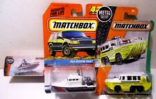 1:64 Matchbox Diecast Rescue Speed Police Boats Amphibian Yacht Ship Toy Lot #7
