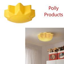Ikea SOLHEM Yellow Sun Children's Ceiling Lamp