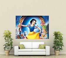 Snow White Giant 1 Piece  Wall Art Poster KR117