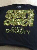 DUCK DYNASTY T Shirt NEW Size Med 7-8 Robertson Family Camo Commander Boys A&E