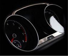 VW GOLF 7 Edelstahl Tacho Blenden VII MK7 Abdeckung Rahmen Volkswagen Cover
