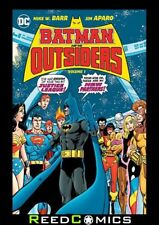 BATMAN AND THE OUTSIDERS VOLUME 1 HARDCOVER (344 Pages) New Hardback
