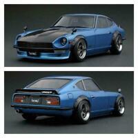 NISSAN Fairlady Z S30 0652 1/18 ignition model blue black mini car new