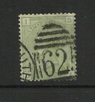 Great Britain SG# 153 Used / Plate 16 / Wmk Large Garter - S4491