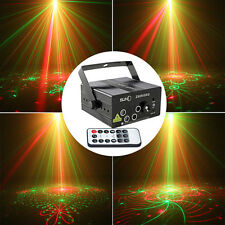 300mW 5 Lens 80 Pattern RGB Projecteur Stage Laser Lighting Party DJ Disco Light