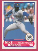 1989 Score Young Superstars # 14 Mike Jackson -- Seattle Mariners
